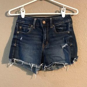 Size 4 American Eagle Jean shorts Super Stretch
